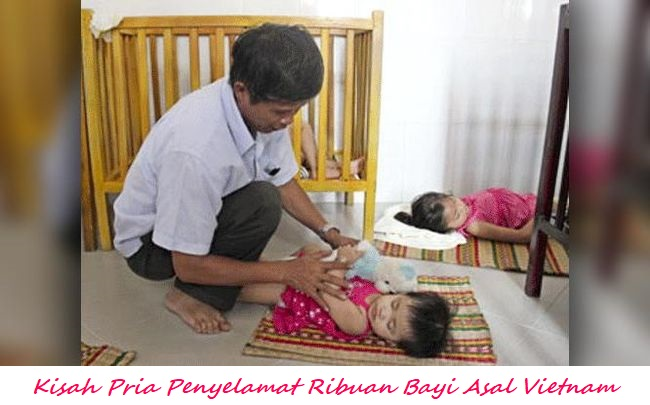 Kisah Pria Penyelamat Ribuan Bayi Asal Vietnam